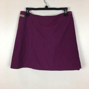 Columbia Wrap Skirt w shorts